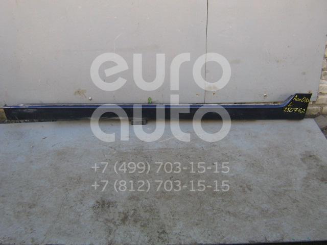 Накладка на порог (наружная) для Honda Accord VII 2003-2008 - Фото №1