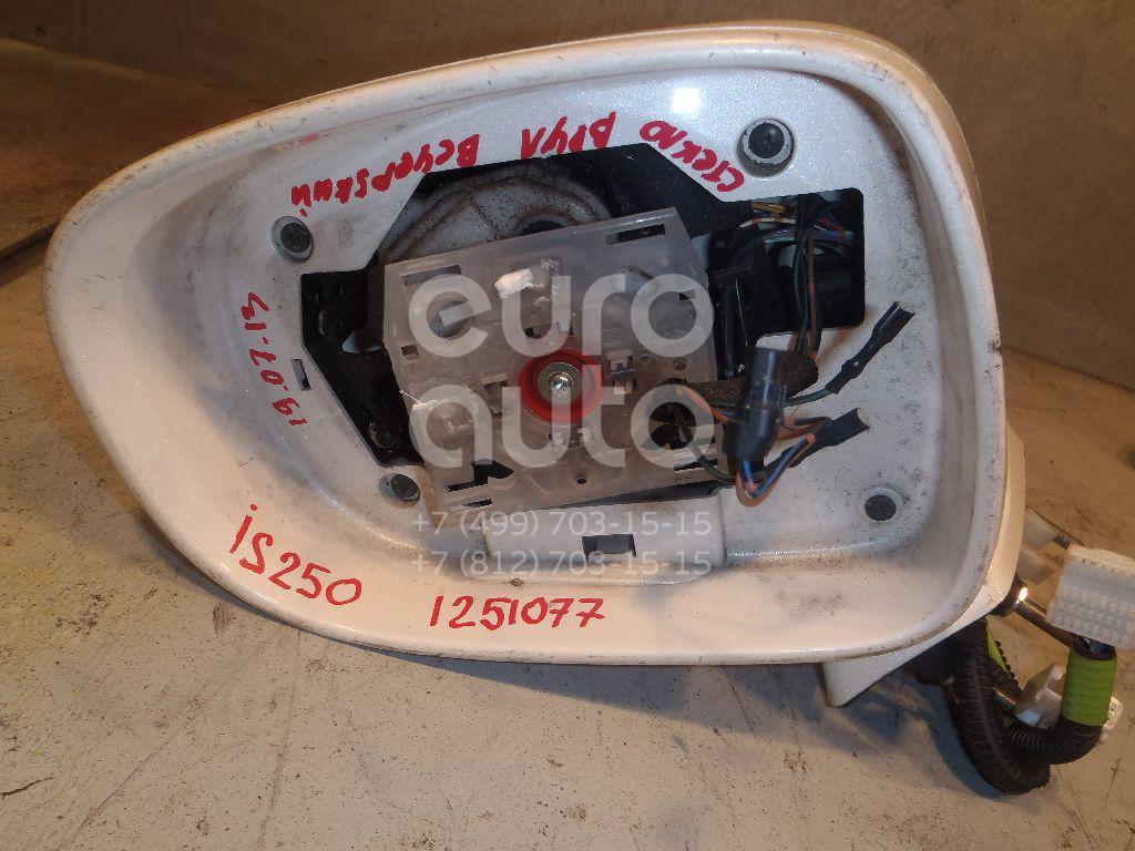Зеркало левое электрическое для Lexus IS 250/350 2005-2013 - Фото №1