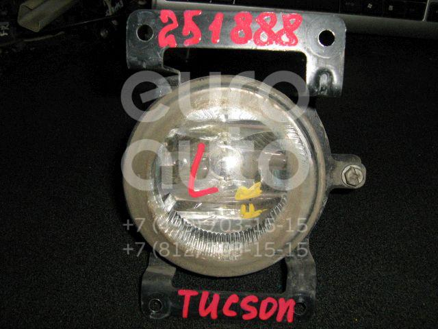 Фара противотуманная левая для Hyundai Tucson 2004-2010 - Фото №1