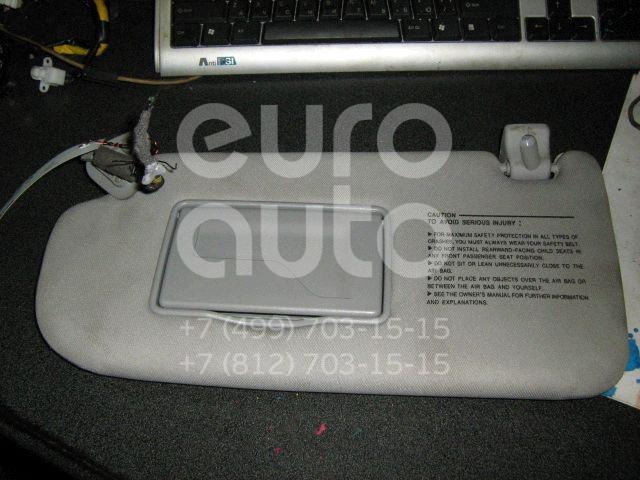 Козырек солнцезащитный (внутри) для Hyundai Tucson 2004-2010 - Фото №1