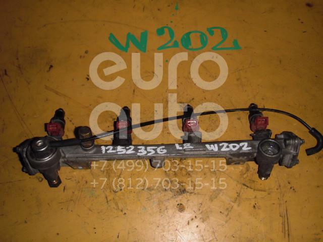 Рейка топливная (рампа) для Mercedes Benz W202 1993-2000 - Фото №1