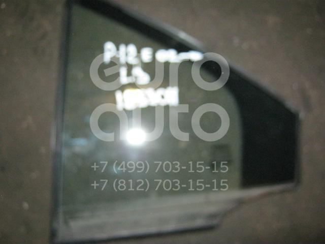 Стекло двери задней левой (форточка) для Nissan Primera P12E 2002-2007 - Фото №1
