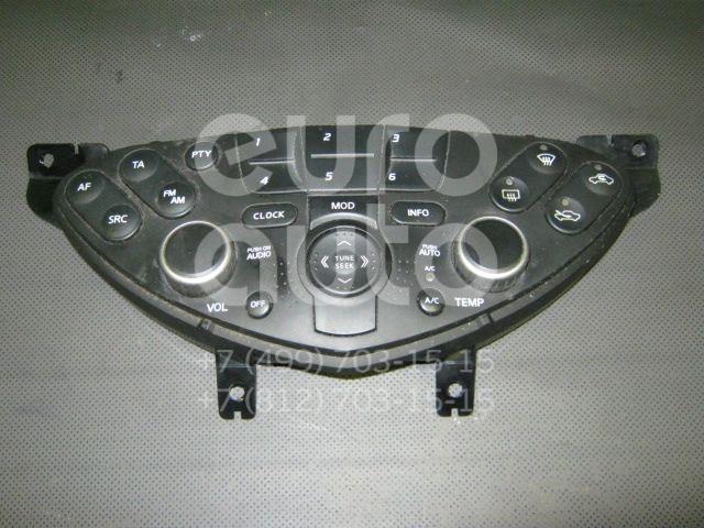 Блок управления климатической установкой для Nissan Primera P12E 2002> - Фото №1
