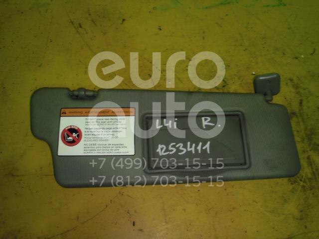 Козырек солнцезащитный (внутри) для Chevrolet Lacetti 2003> - Фото №1