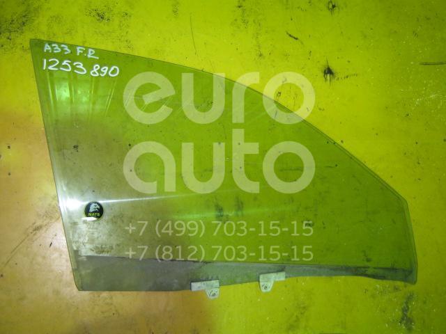Стекло двери передней правой для Nissan Maxima (CA33) 2000-2006 - Фото №1