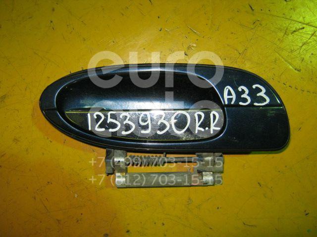 Ручка двери задней наружная правая для Nissan Maxima (A33) 2000-2005 - Фото №1