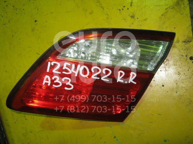 Фонарь задний внутренний правый для Nissan Maxima (A33) 2000-2005 - Фото №1