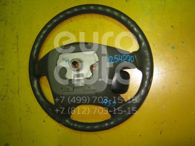 Рулевое колесо с AIR BAG для Nissan Maxima (CA33) 2000-2006 - Фото №1