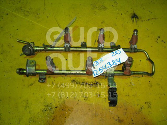 Форсунка инжекторная электрическая для Nissan Maxima (CA33) 2000-2006;Primera P11E 1996-2002;Almera N16 2000-2006;Teana J31 2006-2008;Primera P12E 2002> - Фото №1