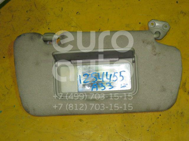 Козырек солнцезащитный (внутри) для Nissan Maxima (CA33) 2000-2006 - Фото №1