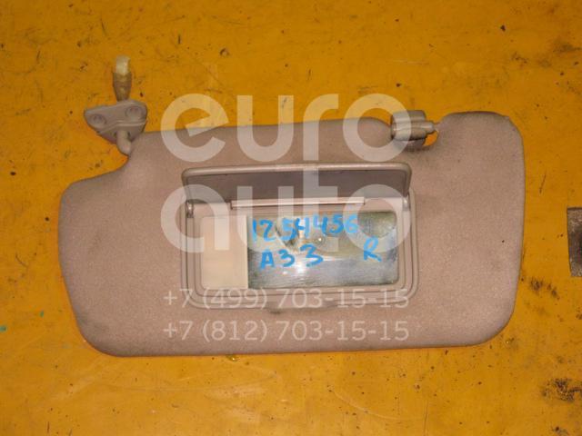 Козырек солнцезащитный (внутри) для Nissan Maxima (A33) 2000-2005 - Фото №1