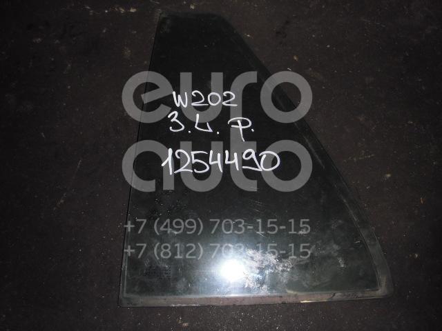 Стекло двери задней левой (форточка) для Mercedes Benz W202 1993-2000 - Фото №1