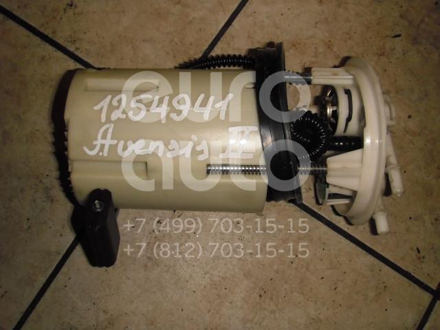 Насос топливный электрический для Toyota Avensis II 2003-2008;Corolla E12 2001-2006 - Фото №1