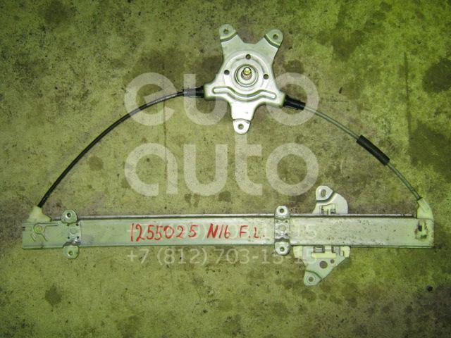 Стеклоподъемник механ. передний левый для Nissan Almera N16 2000-2006 - Фото №1