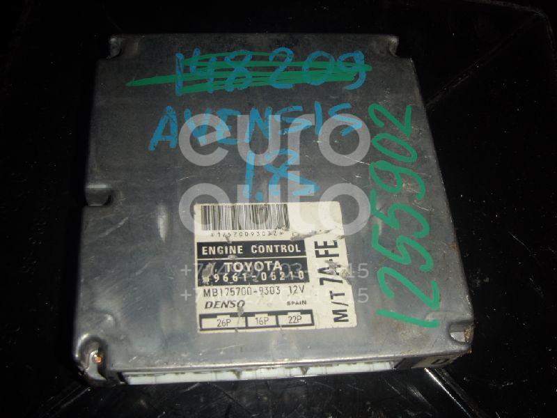 Блок управления двигателем для Toyota Avensis I 1997-2003 - Фото №1
