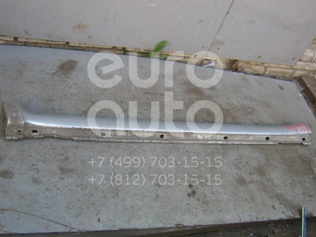 Накладка на порог (наружная) для Subaru Forester (S11) 2002-2007 - Фото №1