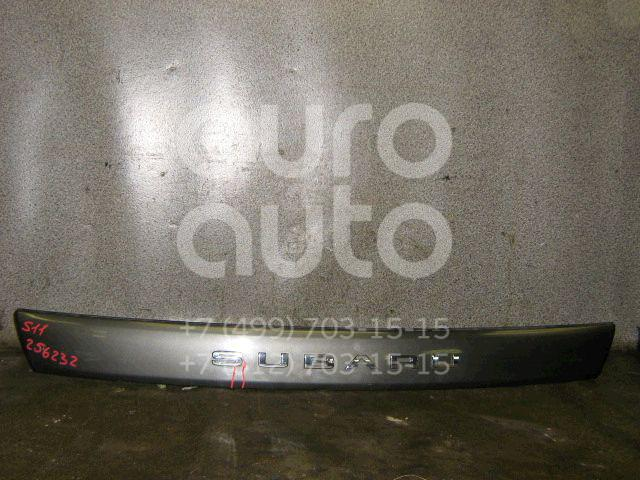 Накладка крышки багажника для Subaru Forester (S11) 2002-2007 - Фото №1