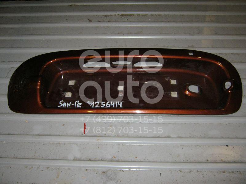 Накладка двери багажника для Hyundai Santa Fe (SM) 2000-2005 - Фото №1