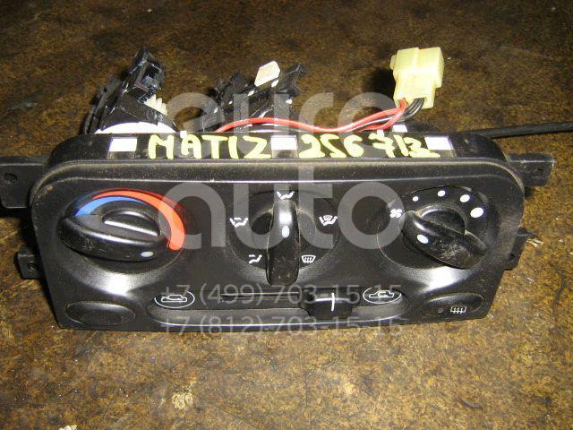 Блок управления отопителем для Daewoo Matiz 1998> - Фото №1