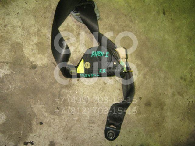Ремень безопасности с пиропатроном для Toyota Avensis I 1997-2003 - Фото №1