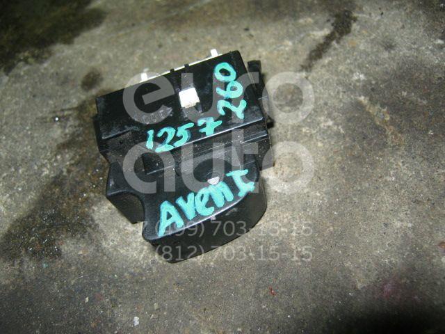 Накладка блока управления стеклоподъемниками для Toyota Avensis I 1997-2003 - Фото №1