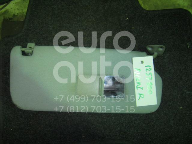 Козырек солнцезащитный (внутри) для Toyota Avensis I 1997-2003 - Фото №1