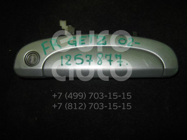 Ручка двери передней наружная правая для Hyundai Getz 2002-2010 - Фото №1
