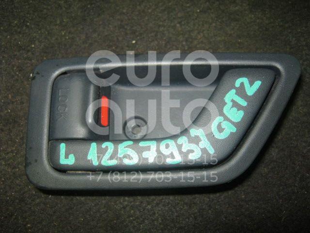 Ручка двери внутренняя левая для Hyundai Getz 2002-2010 - Фото №1