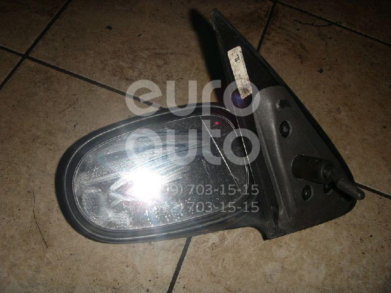 Зеркало левое механическое для Nissan Almera N16 2000-2006 - Фото №1