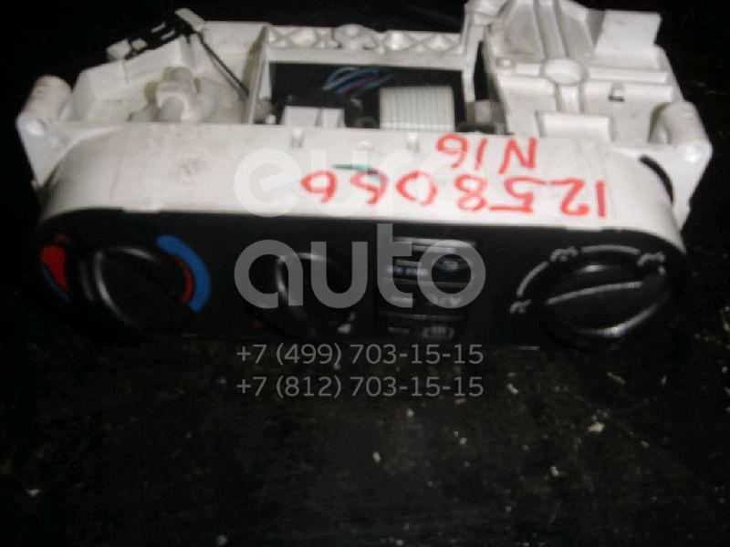 Блок управления отопителем для Nissan Almera N16 2000-2006 - Фото №1