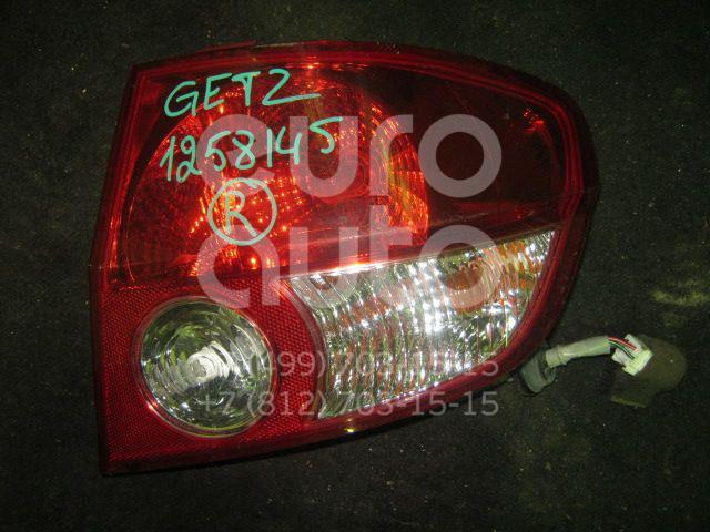 Фонарь задний правый для Hyundai Getz 2002-2010 - Фото №1