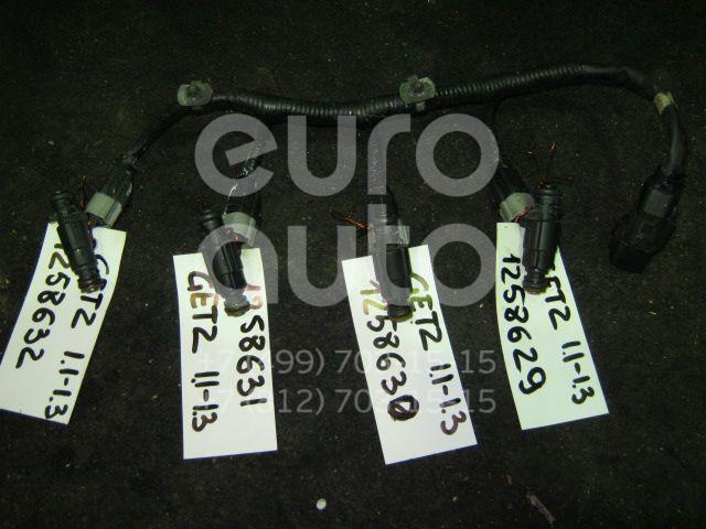 Форсунка инжекторная электрическая для Hyundai,Kia Getz 2002-2010;Coupe (RD) 1996-2002;Elantra 2000-2005;Matrix 2001-2010;Coupe (GK) 2002-2009;Cerato 2004-2008;Accent II (+ТАГАЗ) 2000-2012 - Фото №1