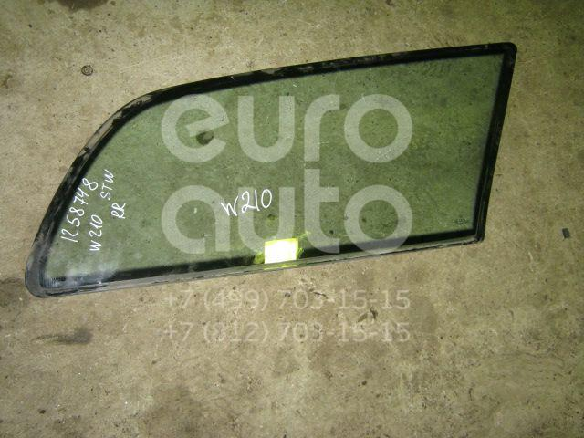 Стекло кузовное глухое правое для Mercedes Benz W210 E-Klasse 1995-2000;W210 E-Klasse 2000-2002 - Фото №1