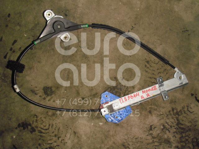 Стеклоподъемник механ. задний правый для Ford Mondeo II 1996-2000;Mondeo I 1993-1996 - Фото №1