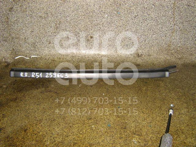 Накладка стекла заднего правого для Nissan Pathfinder (R51M) 2004-2013 - Фото №1