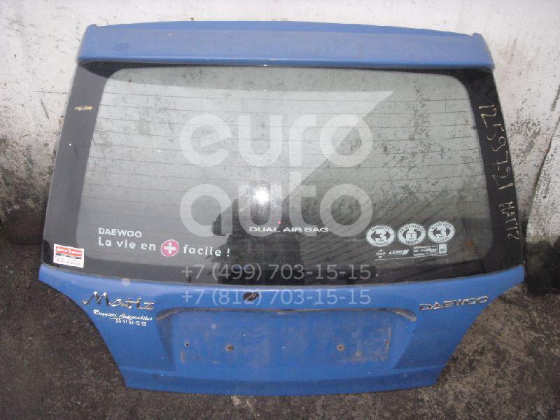 Дверь багажника со стеклом для Daewoo Matiz 2001> - Фото №1