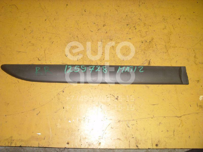 Молдинг задней правой двери для Daewoo Matiz 1998> - Фото №1