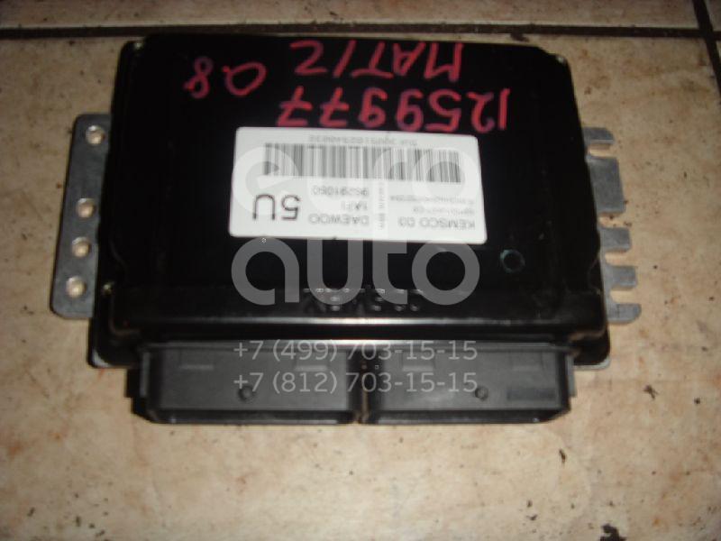 Блок управления двигателем для Daewoo Matiz 2001>;Matiz (KLYA) 1998> - Фото №1