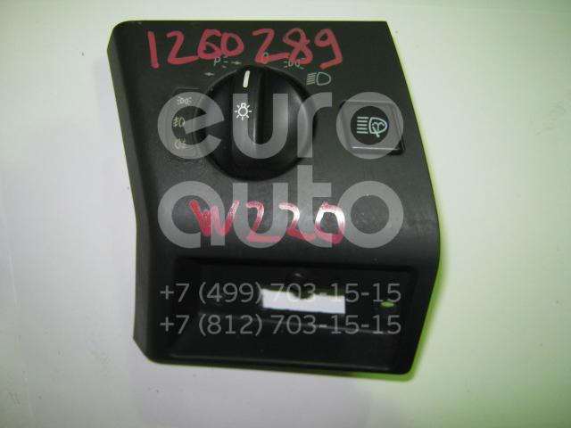 Переключатель света фар для Mercedes Benz W220 1998-2005 - Фото №1