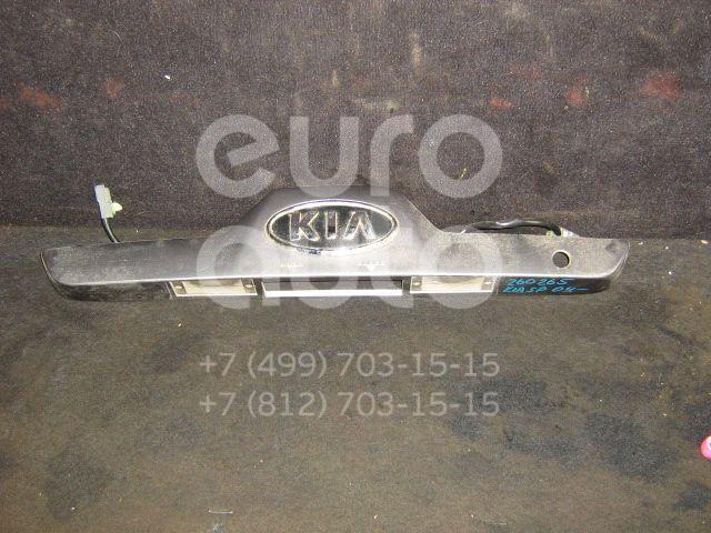 Накладка двери багажника для Kia Sportage 2004-2010 - Фото №1