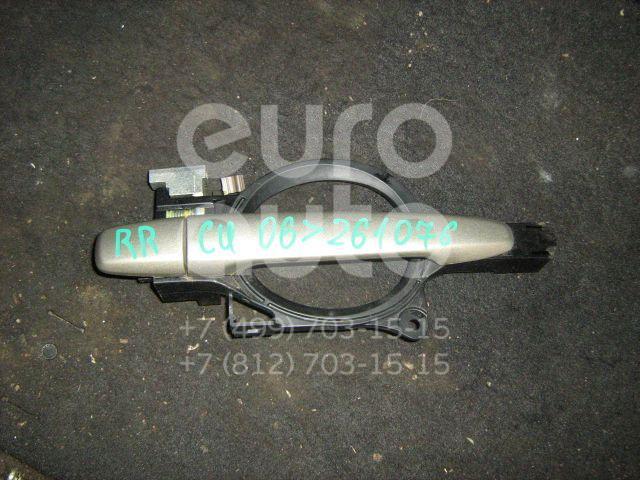 Ручка двери задней наружная правая для Mitsubishi Outlander XL (CW) 2006-2012 - Фото №1