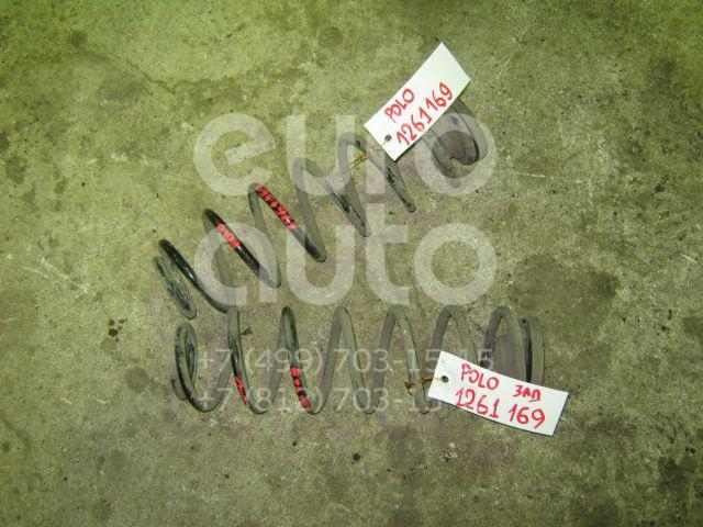 Пружина задняя для VW,Skoda,Seat,Audi Polo 2001-2009;Fabia 1999-2007;Fabia 2007-2015;Cordoba 2002-2008;Ibiza IV 2002-2008;A1 2010> - Фото №1