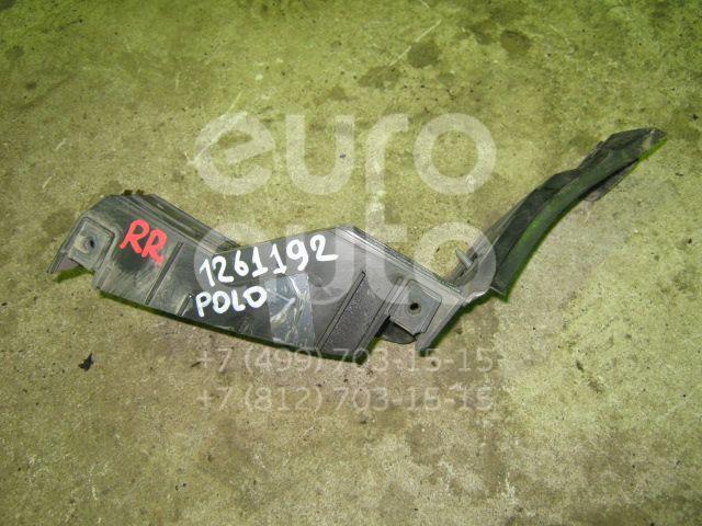 Направляющая заднего бампера правая для VW Polo 2001-2009 - Фото №1