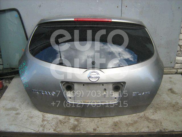 Дверь багажника со стеклом для Nissan Murano (Z50) 2004-2008 - Фото №1