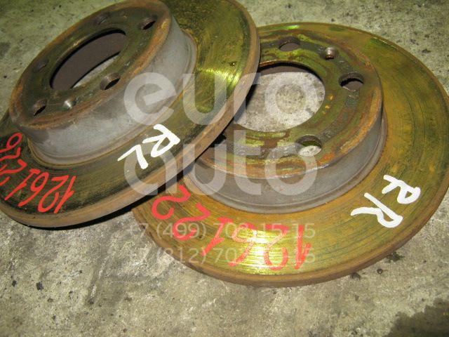 Диск тормозной задний для VW Polo 2001-2009 - Фото №1