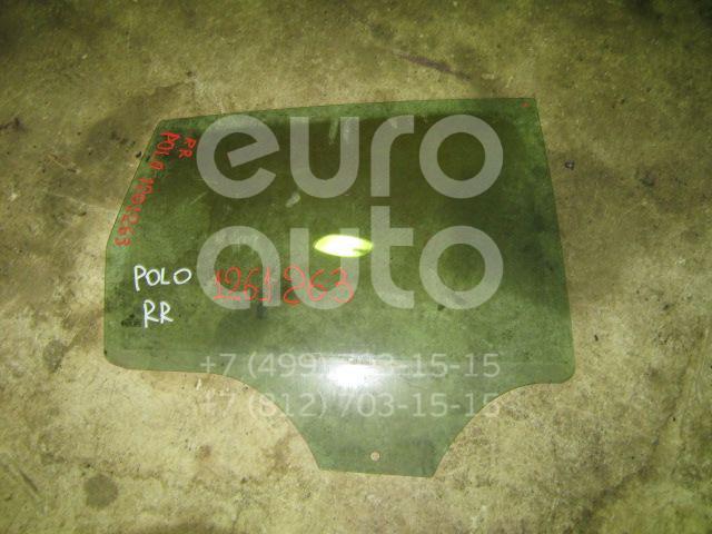 Стекло двери задней правой для VW Polo 2001-2009 - Фото №1