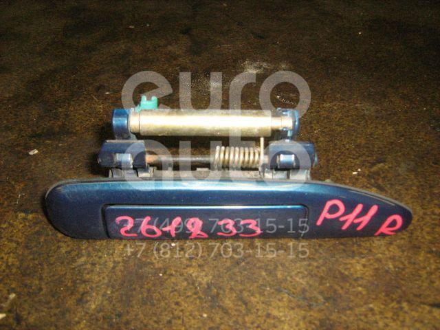 Ручка двери задней наружная правая для Nissan Primera P11E 1996-2002 - Фото №1