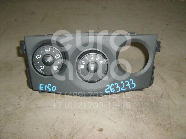 Блок управления отопителем для Toyota Corolla E15 2006-2013 - Фото №1