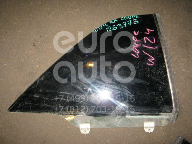 Стекло кузовное открывающееся (форточка) правое для Mercedes Benz W124 1984-1993 - Фото №1