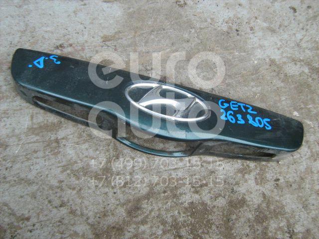 Накладка двери багажника для Hyundai Getz 2002-2010 - Фото №1